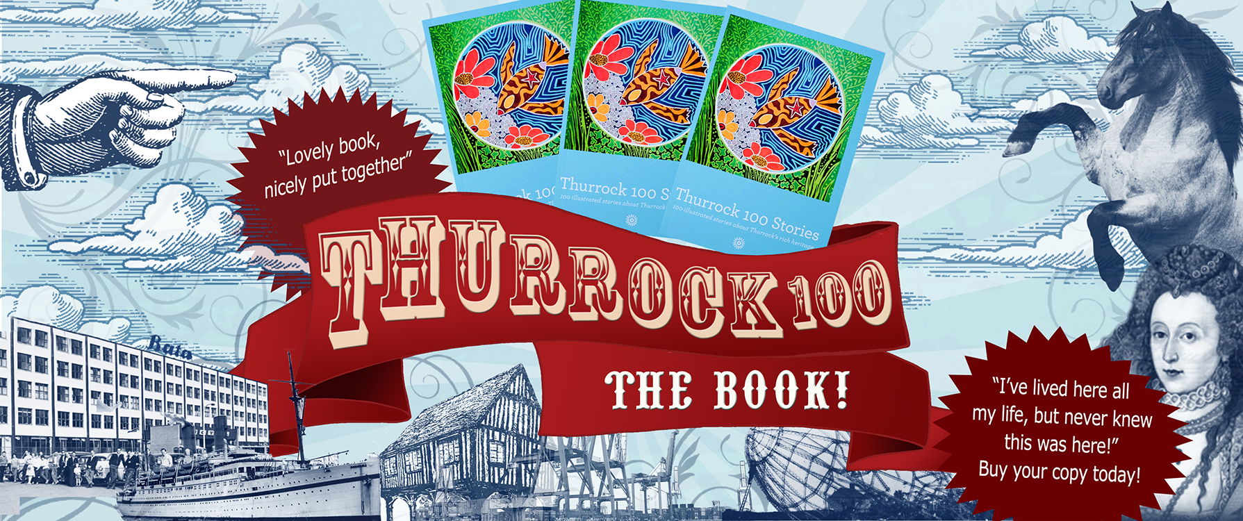 Support Thurrock 100 - buy the story book, only £5+postage