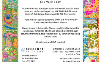Beecroft Exhibition invite