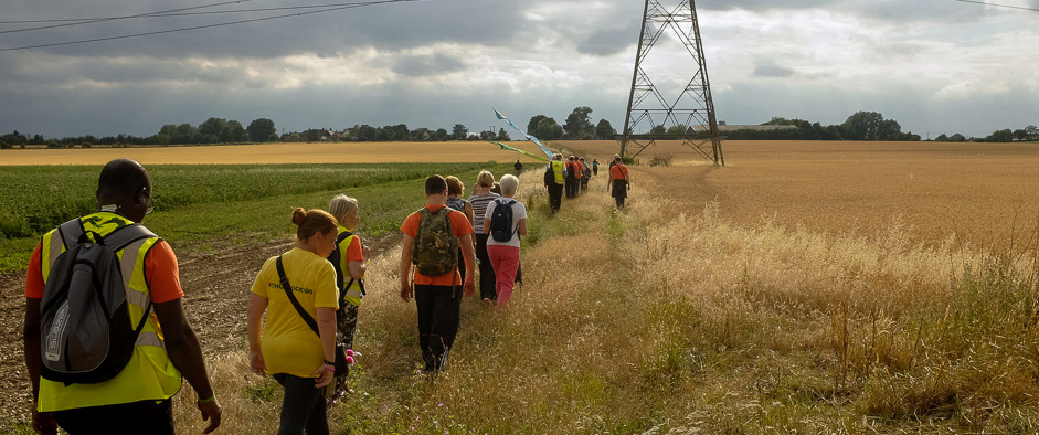 Walk 5 - 10th July Chadwell to East Tilbury