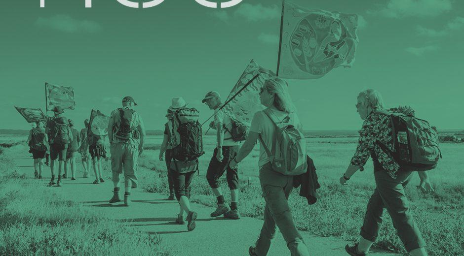 T100 walking festival exhibition