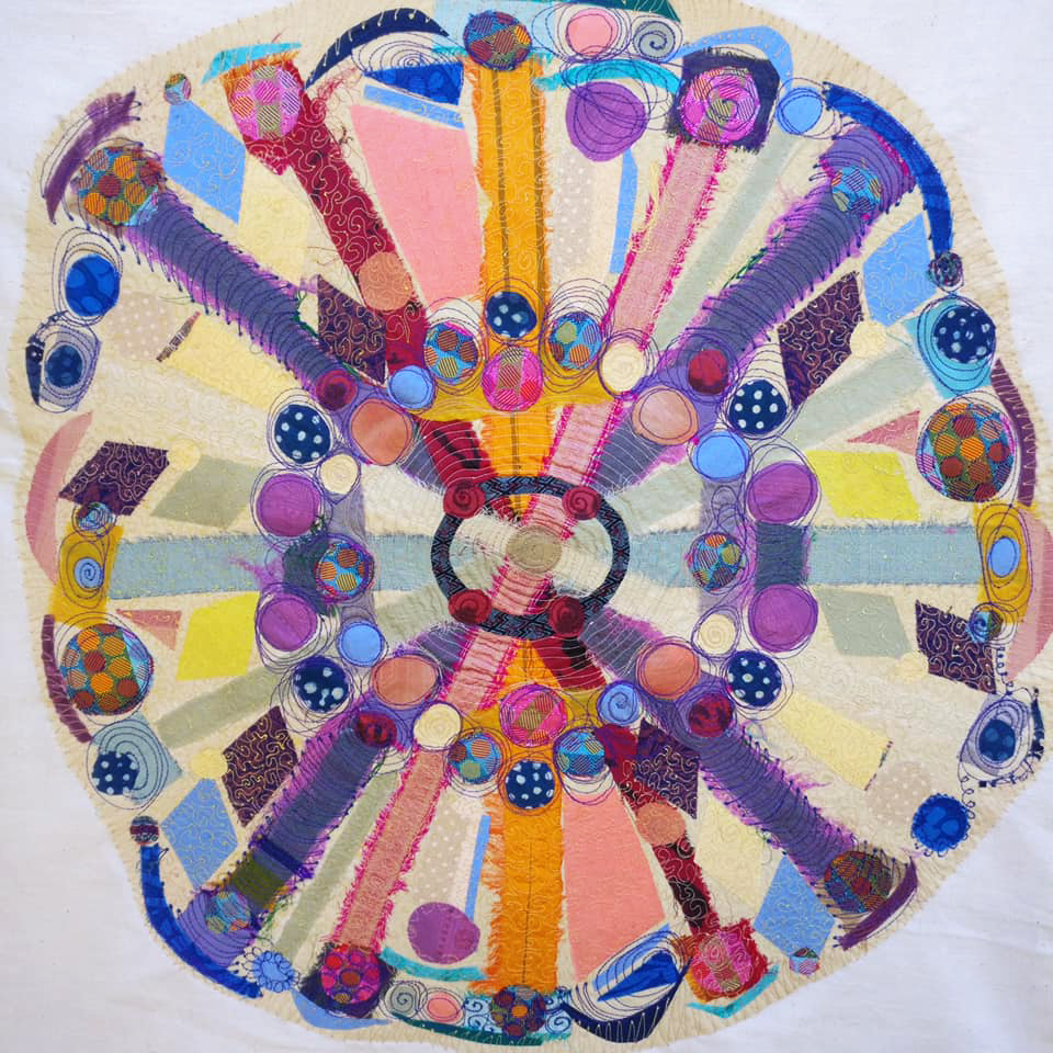 Imagination our nation mandala by Jane Barry