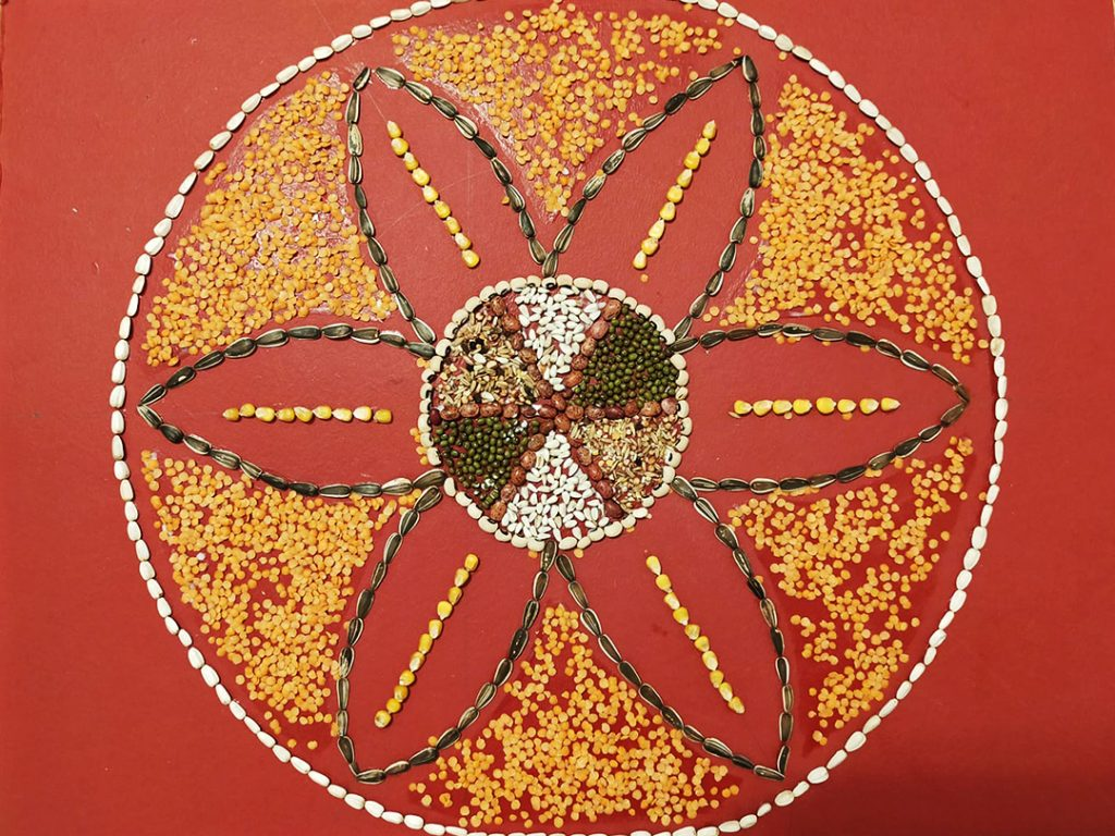 Grow your own mandala by Winnie Nyamu