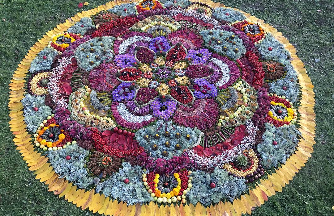 Mandala by Therese Muskus