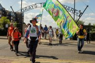 2015 Day 10 Peter Woodard leads us into Grays