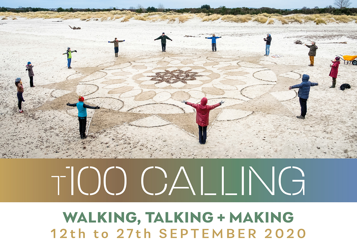 T100 Calling walking, talking and making festival, 12th to 27th September 2020