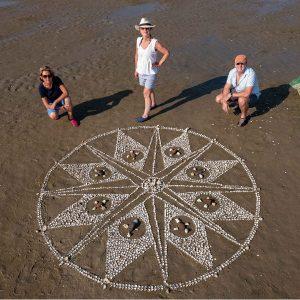 Tide Turning Mandala photo Mike Johnston