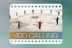 Beach mandala from T100 Calling