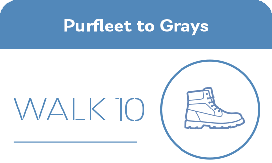 Purfleet to Grays Walk