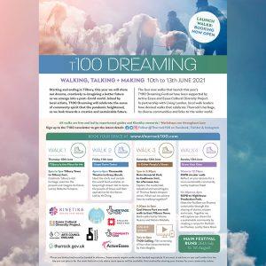T100 Dreaming festival flyer