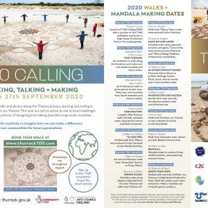 T100 2020 walk festival flyer