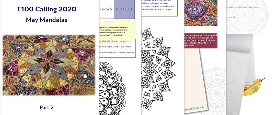 Free Mandala Activity Pack to download