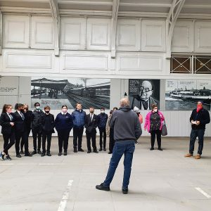 Students from Gateway Academy visit Tilbury Cruise Terminal